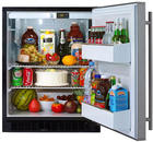 "24"" Compact All-Refrigerator with 5.3 cu. ft. Capacity, 2 Wire Shelves, Tall Bottle Storage, Door Lock, ADA Compliant and Right Hinge Door Opening"