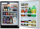 "24"" Undercounter All-Refrigerator with 6.1 cu. ft. Capacity, 2 Spill-Proof Glass Shelves, 3 Door Shelves, Auto Defrost, Dynamic Cooling and Right Hinge Door Swing: Black Cabinet, Black Door"