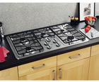 "36"" Gas Cooktop with 5 Sealed Burners, 11,000 BTU Burner, Precise Simmer Burner, Matte Grates and Dishwasher-Safe Knobs"