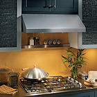 "30"" Pro-Style Under Cabinet Range Hood with Dual 440 CFM Internal Blowers, 2 Fan Speeds, Dual Halogen Lamps and Heat Sentry: Stainless Steel"