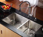 Kraus Kitchen Combo Series KHU10333KPF1612KSD30