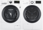 LG 1388 Series Front Load Washer + Dryer Pair