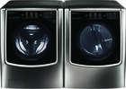 LG 9500 Series Front Load Washer + Dryer