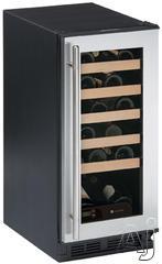 """U Line Wine Captain 1000 15"""" Built In Wine Cooler 1115WC"""