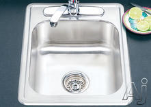 Houzer Single Bowl Bar Sink 17227BS1