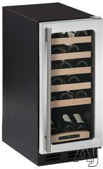 """U Line Wine Captain 2000 15"""" Built In Wine Cooler 2115WC"""