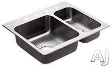 Moen Double Bowl Kitchen Sink 22238