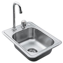Moen Single Bowl Bar Sink 22245