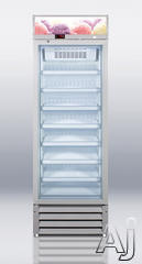Summit Freestanding Upright Freezer SCFU1375