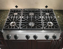 "Dacor 36"" Sealed Burner Gas Cooktop EG366SCH"