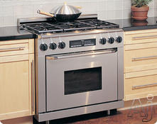New dacor 36 epicure stainless dual fuel convection range for Dacor 48 dual fuel range