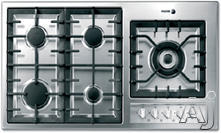 "Fagor 36"" Sealed Burner Gas Cooktop 3FIA95GLSTX"