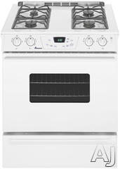 "Amana 30"" Slide-In Gas Range AGS1740BD"
