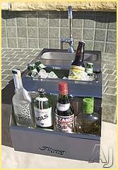 Alfresco Built In Outdoor Bar ADT14
