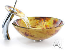 Kraus Amber Vessel Sink CGV42112MM10