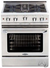 "Capital Culinarian 30"" Freestanding Gas Range CGMR304"