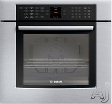 "Bosch 800 30"" Single Electric Wall Oven HBL8450UC"