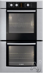 "Bosch 30"" 30"" Double Electric Wall Oven HBL560UC"