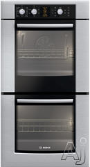 "Bosch 500 27"" Double Electric Wall Oven HBN5650UC"