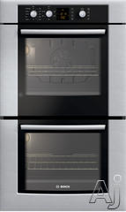 "Bosch 300 30"" Double Electric Wall Oven HBL350UC"