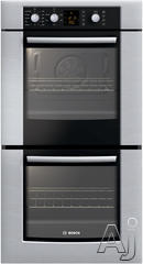 "Bosch 300 27"" Double Electric Wall Oven HBN3550UC"