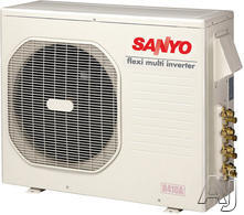 Sanyo Flexi-Multi 25,400 BTU Quad Zone Ductless Split System CM2472A
