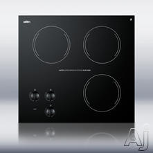 "Summit 21"" Electric Cooktop CR3240"