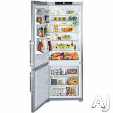 Liebherr Freestanding Bottom Freezer Refrigerator CS1611