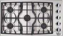 "DCS 36"" Sealed Burner Gas Cooktop CTD365SS"