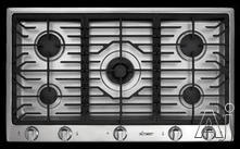 """Dacor Distinctive 36"""" Gas Cooktop DCT365BNG"""