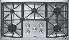 "Viking 36"" Sealed Burner Gas Cooktop DGVU2605B"