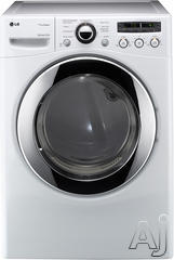 LG Front Load Electric Dryer DLEX2650
