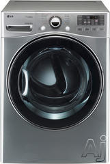 LG Front Load Electric Dryer DLEX3470