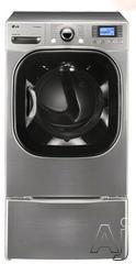LG SteamDryer 7.4 Cu. Ft. Gas Front Load Dryer DLGX3876