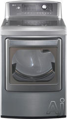 LG SteamDryer 7.3 Cu. Ft. Gas Front Load Dryer DLGX5171