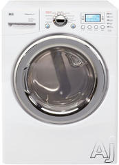 LG SteamDryer 7.3 Cu. Ft. Gas Front Load Dryer DLGX8388WM