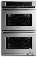 "Frigidaire Gallery 27"" Double Electric Wall Oven FGET2765K"