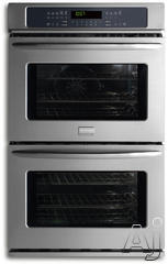 "Frigidaire 30"" 30"" Double Electric Wall Oven FGET3045K"