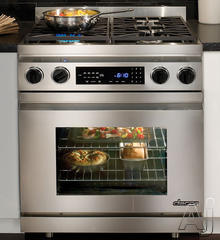 "Dacor Distinctive 30"" Freestanding Dual Fuel Range DR30D"