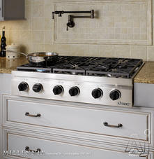 "Dacor 36"" Sealed Burner Gas Cooktop DRT366"