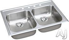 Elkay Double Bowl Kitchen Sink EG33221