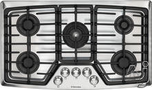 """Electrolux Wave-Touch 36"""" Gas Cooktop EW36GC55GS"""