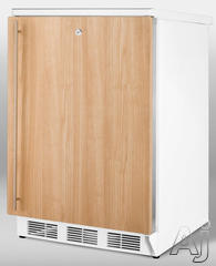 Summit Built In Full Refrigerator Refrigerator CT66LBIIF