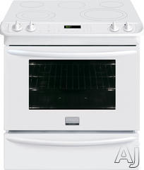 "Frigidaire 30"" Slide-In Electric Range FGES3065PW"