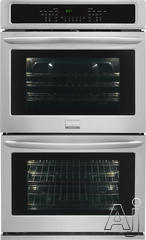 "Frigidaire Gallery 30"" Double Electric Wall Oven FGET3065PF"