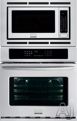 "Frigidaire Gallery 27"" Double Electric Combination Wall Oven FGMC2765PF"