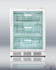 Summit Freestanding Upright Freezer FS62GL7
