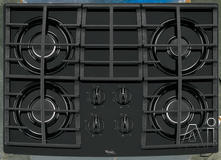 "Whirlpool 30"" Sealed Burner Gas Cooktop GLT3057RB"