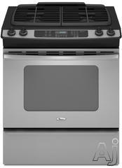 "Whirlpool 30"" Slide-In Gas Range GW397LXU"