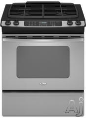 "Whirlpool 30"" Slide-In Gas Range GW399LXU"